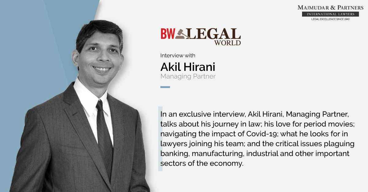 Akil Hirani Interview With BW Legal World