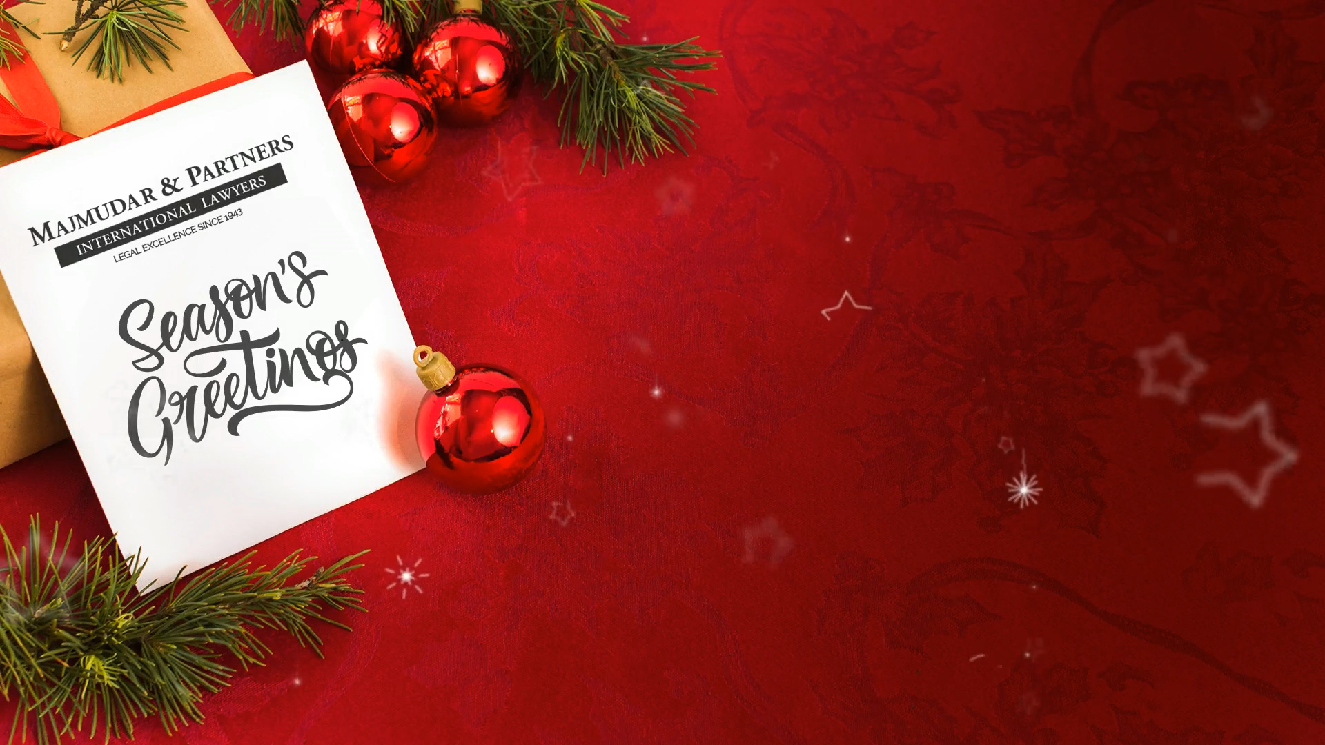 Merry Christmas from Majmudar & Partners